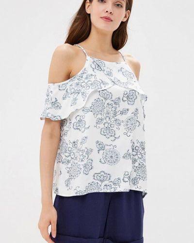 Блузка с открытыми плечами белая весенний Top Secret