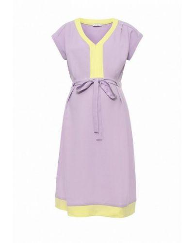 Фиолетовое платье весеннее Mammysize