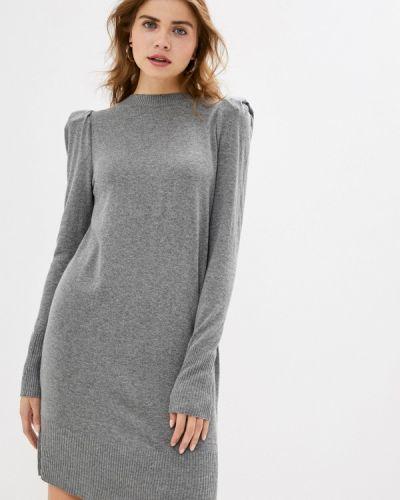 Серое вязаное платье Rinascimento