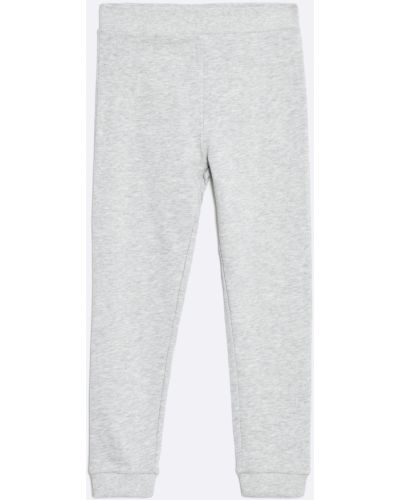Брюки на резинке серые светло-серый Guess Jeans
