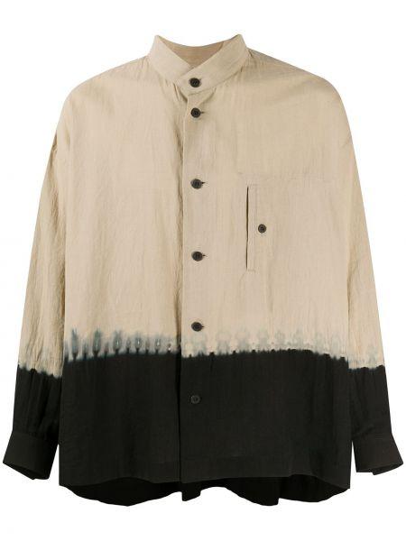 Koszula z długim rękawem klasyczna bielizna Issey Miyake