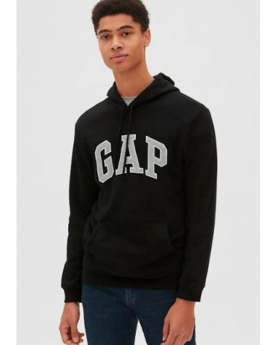 Худи с капюшоном - черное Gap