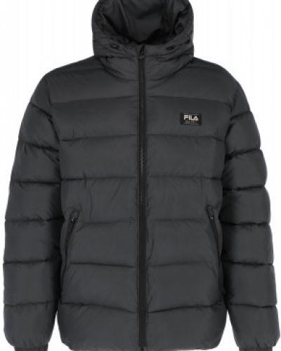 Куртка с капюшоном - серая Fila