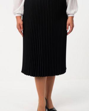 Плиссированная юбка - черная Wisell