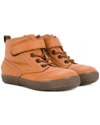 Ботинки коричневый Miki House