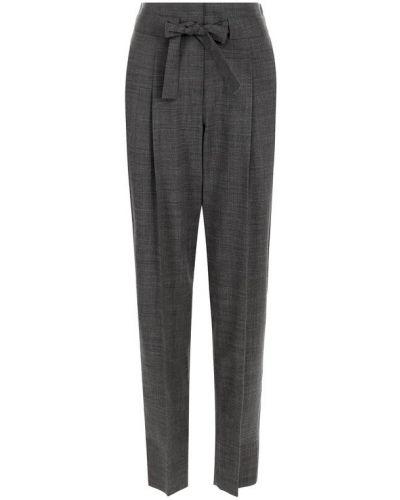 Укороченные брюки с завышенной талией с защипами Windsor