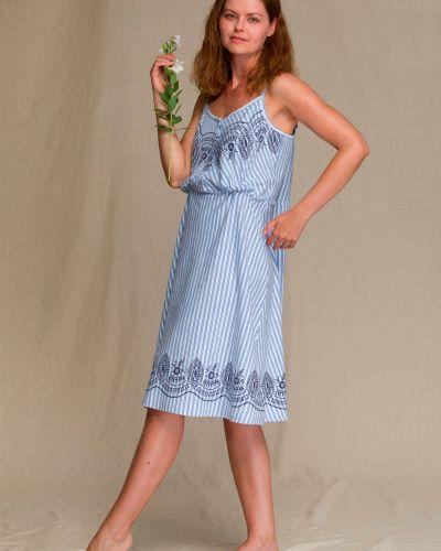 Платье с принтом Key