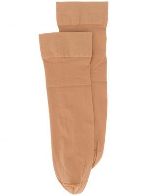 Носки из верблюжьей шерсти стрейч с манжетами Wolford