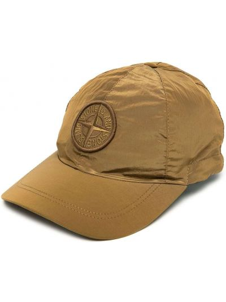 Z paskiem kapelusz z łatami Stone Island