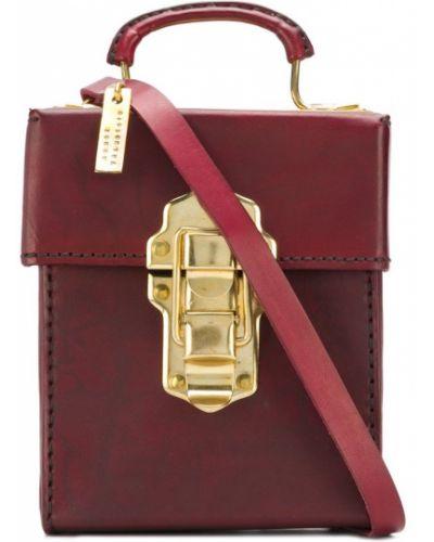 Красная кожаная сумка Munoz Vrandecic