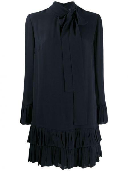 Sukienka dla wysokich kobiet z długim rękawem Valentino