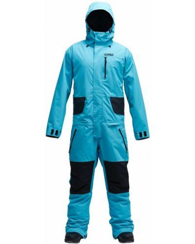 Голубой костюм Airblaster