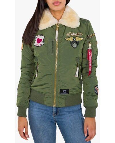 Зеленая куртка Alpha Industries