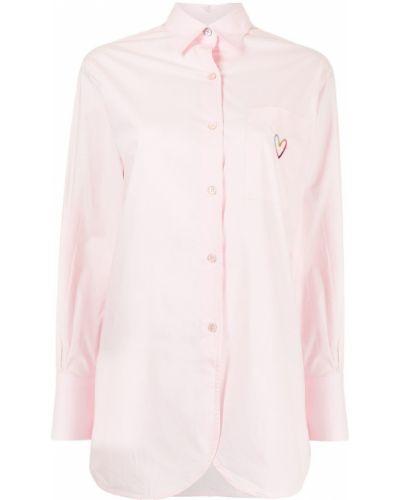 Розовая рубашка классическая Ps Paul Smith