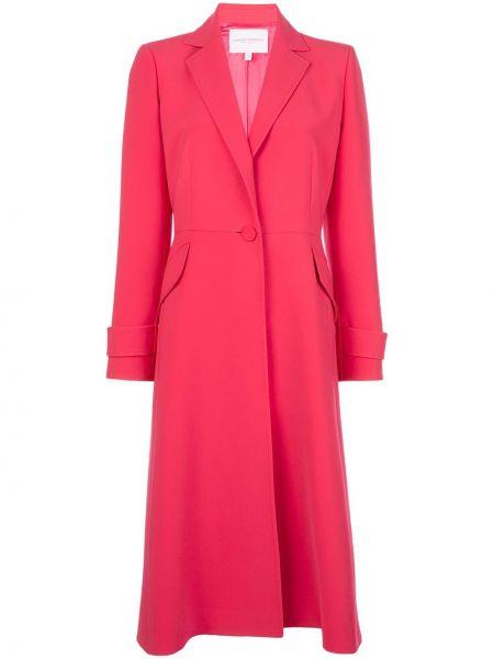Длинное пальто пальто на пуговицах Carolina Herrera