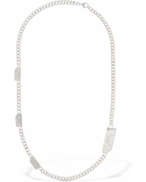 Naszyjnik srebrny A-cold-wall*