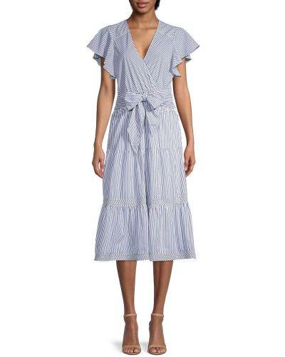Хлопковое платье миди Parker