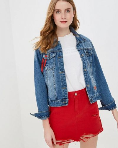 Джинсовая куртка - синяя Marissimo
