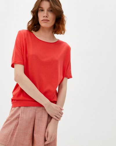 Оранжевая футболка с короткими рукавами Q/s Designed By