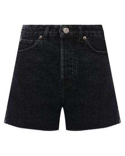 Джинсовые шорты - серые 3x1