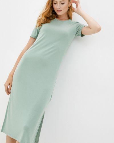 Зеленое платье Sela