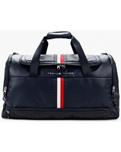 Синяя дорожная сумка Tommy Hilfiger