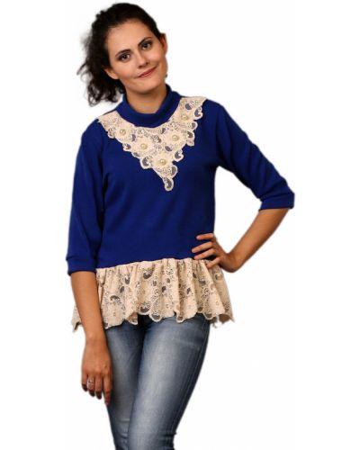 Блузка кружевная из плотной ткани Lolly Collection