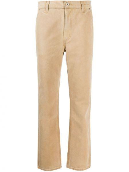 Песочные брюки с воротником с карманами на пуговицах Yeezy