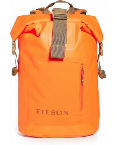Plecak materiałowy klamry na rzepy Filson