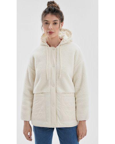 Куртка с капюшоном - бежевая O'stin