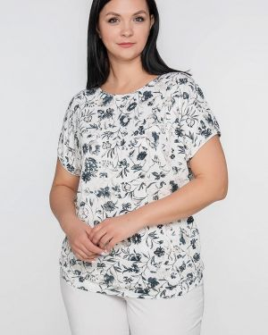 Блузка белая весенний Лимонти