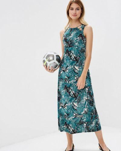 Зеленое платье весеннее Ovs