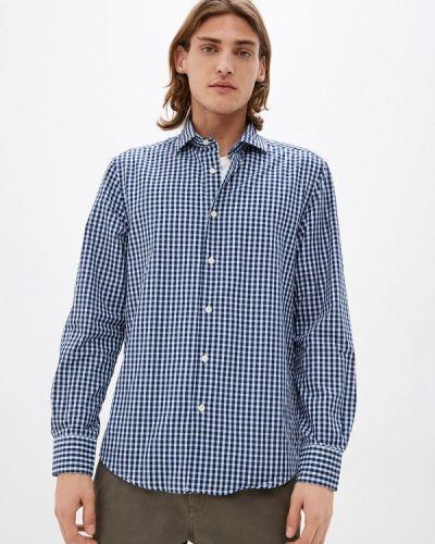 Синяя рубашка с длинным рукавом с длинными рукавами J. Hart & Bros