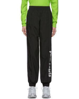 Спортивные брюки с карманами в полоску Palm Angels