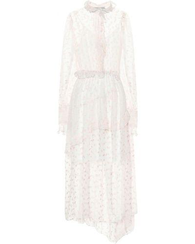 Летнее платье с цветочным принтом английский Preen By Thornton Bregazzi