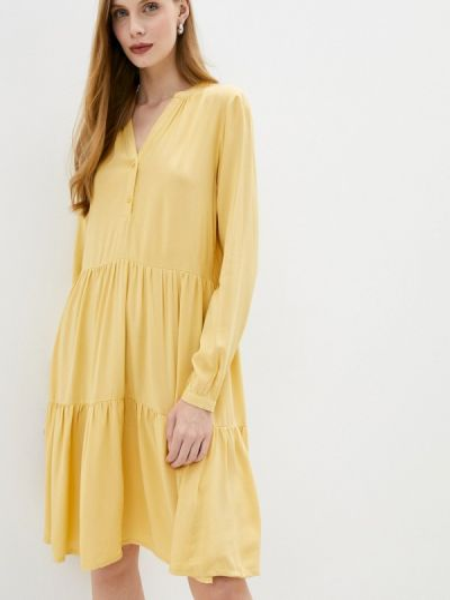 Желтое платье B.young