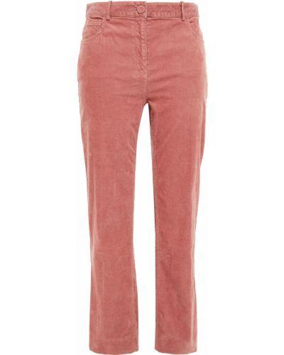 Розовые брюки вельветовые Theory