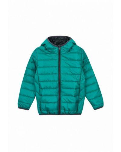 Бирюзовая теплая куртка Garnamama