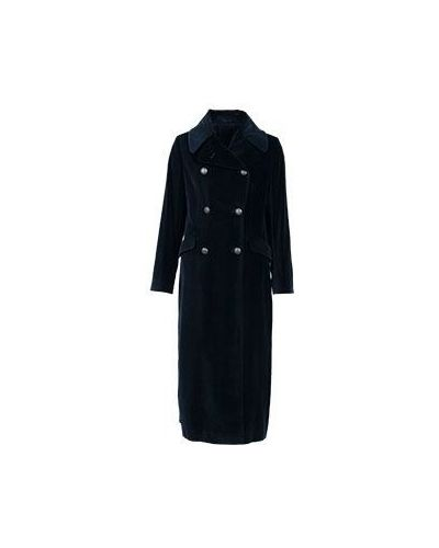 Синее пальто осеннее Tagliatore