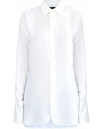 b52b2a3db4d Блузка с длинным рукавом с воротником-стойкой с манжетами Polo Ralph Lauren