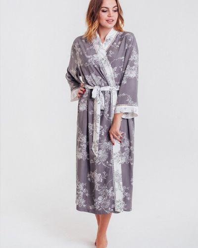 Домашний халат - серый Mia-mella