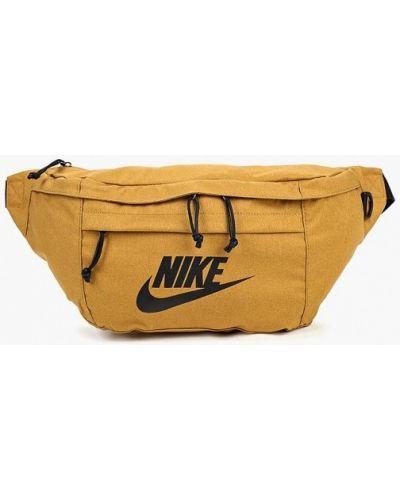 Коричневая поясная сумка Nike