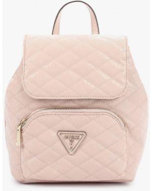 Рюкзак розовый городской Guess