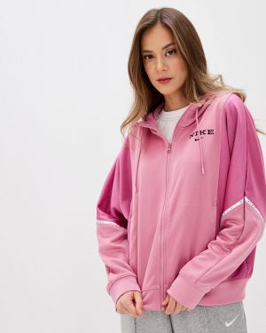 Толстовка розовый Nike