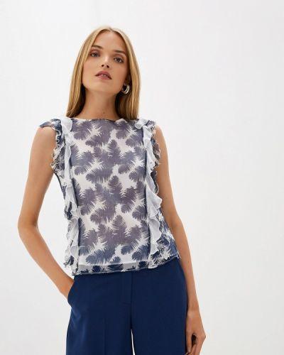 Блузка без рукавов синяя итальянский Blugirl Folies