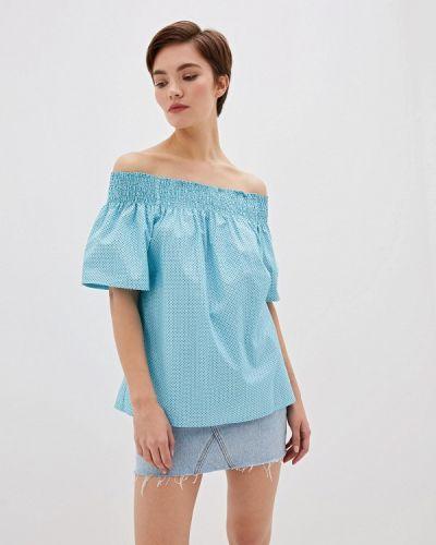 Блузка с открытыми плечами итальянский Blugirl Folies