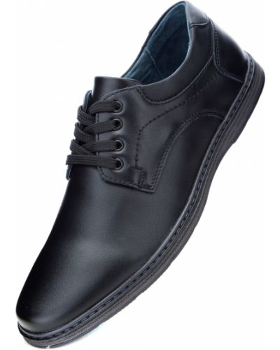 Туфли сетчатые - черные Kangfu