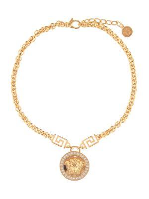 Ожерелье из золота металлический Versace