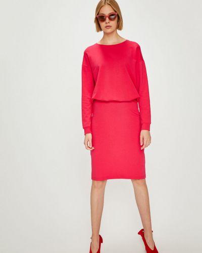 Платье мини с поясом прямое Answear