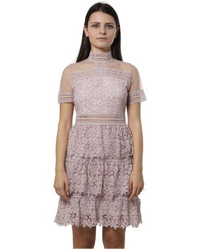 Sukienka mini z falbanami Amy Lynn